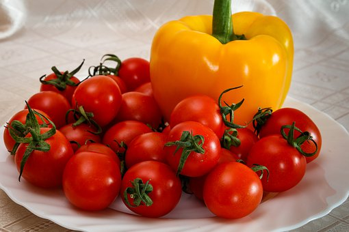 Tomatoes, Pepper, Paprika, Vegetables, Nutrition