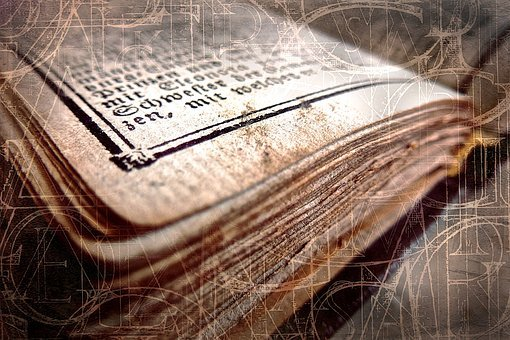 Book, Antique, Old, Close Up, Old Book, Worn, Font