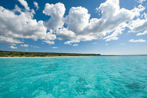 Beach, Beach Bay Of The Eagles, Dominican, Pedernales