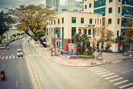City, Street, Danang, Urban, People, Paris, Buildings