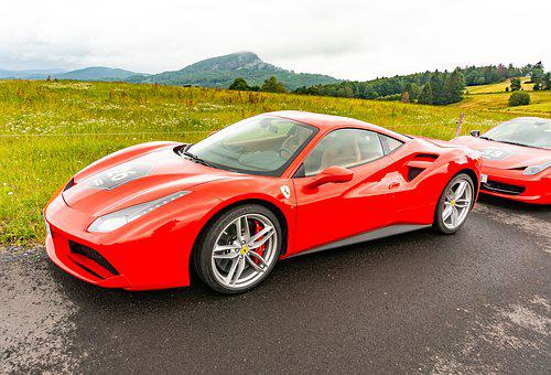 Ferrari, Sports Car, Auto, Speed, Luxury, Performance