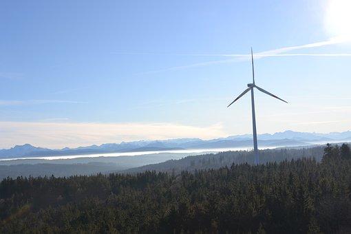 Pinwheel, Wind Energy, Wind Power, Energy, Windräder
