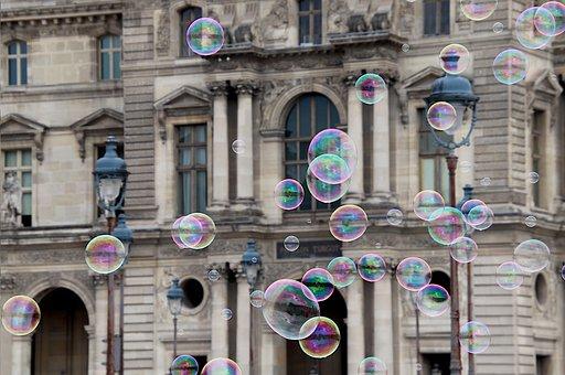 Soap Bubbles, Decorative, Games, Louvre Museum