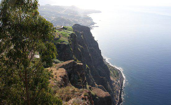 Madeira, Cabo, Girao, Skywalk, Cliffs, Steep Cliffs