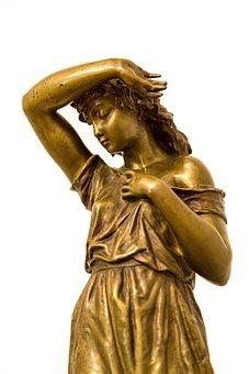 Sculpture, Woman, Bronze, The Art Of, Character