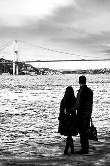 People, Mood, Istanbul, Nikon, Turkey, Silhouette