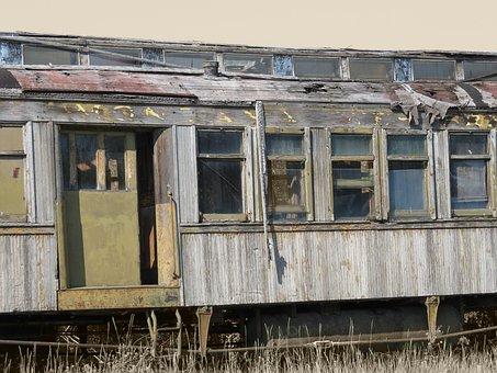 Train, Old, Rail Cars, Train Car, Wagon, Nostalgia