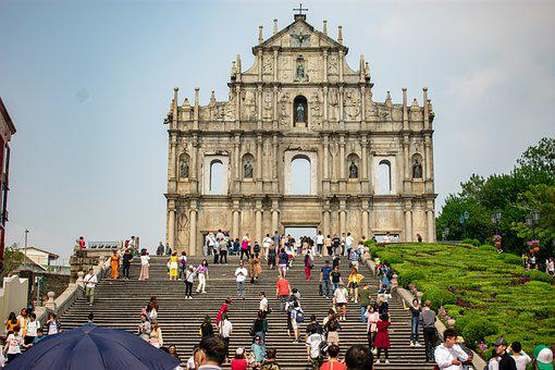 Macao, Macau, China, Architecture