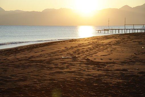 Landscape, Beach, Solar, Marine, Water