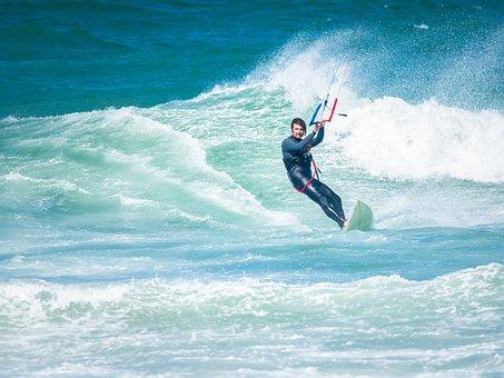 Action, Active, Beach, Blue, Board