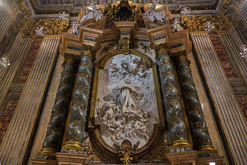 Altar, Church, Architecture, Building, Art, Cathedral