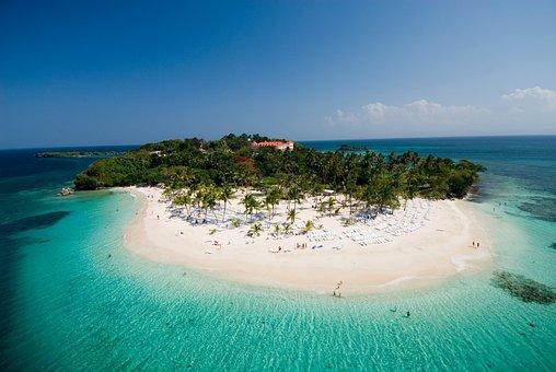 Cayo Levantado, Beach Sand, Summer, Family, Travel