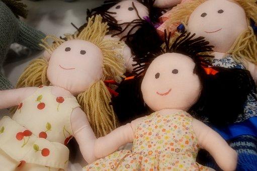 Doll, Plush, Cute, Fabric, Wool, Knitting, Crafts