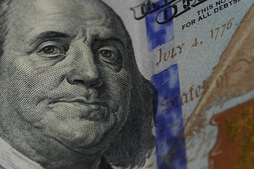 Dollar Bill, Benjamin Franklin, Money