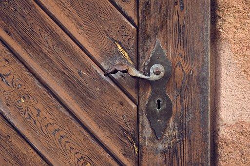 Access, Door Knob, Input, Old, Door Handle, Handle