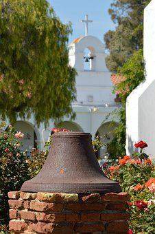 Bell, Mission, Old, Rustic, Old California, Famous