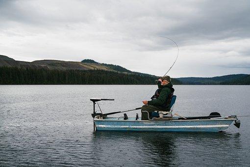 Mount Polley, Polley Lake, Old Man, Fisherman