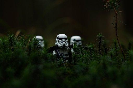 Clone, War, Grass, Green, Forest
