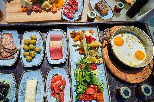 Breakfast, Holiday, Summer, Resort, Luxury, Food