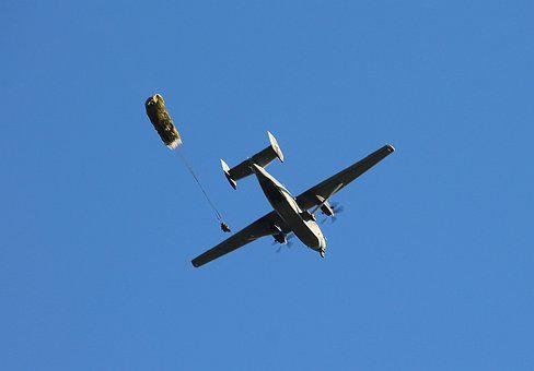 Aircraft, Parachute, Human, Technology, Air Force