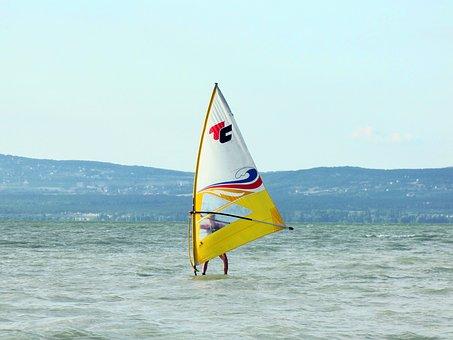 Wind Horse, Lake Balaton, Hungary, Lake