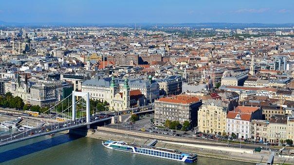 Landscape, Urban, Views, The Air, City, Architecture