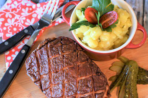 Meat Loaf, Liver Cheese, Eat, Lunch, Kitchen, Cook
