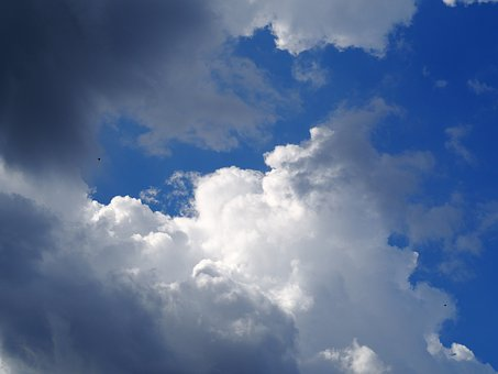 Clouds, Blue Sky, Nature