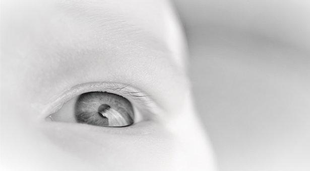Eye, Baby, Infant, Newborn, Pupil, Iris