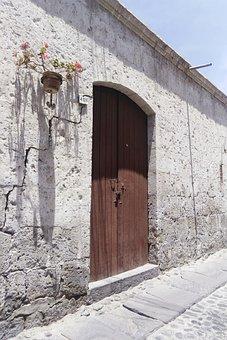 Portal, Door, Architecture, Historically, Wood, Arc