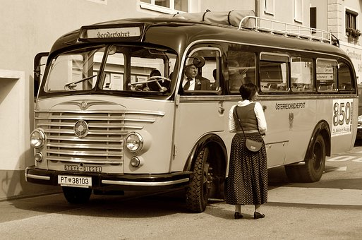 Bus, Old, Vehicle, Auto, Oldtimer, Retro, Cult