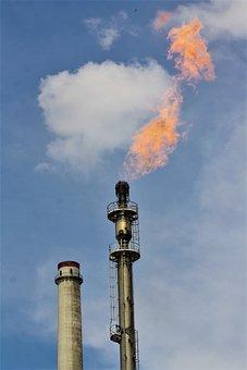 Coal Pot, Ruhr Area, Duisburg, Coke Gas, Steel Mill