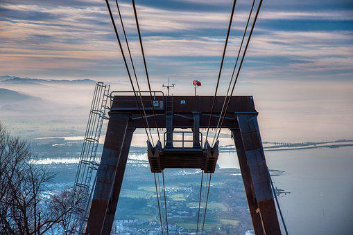 Cable Car, Steel Cables, Support