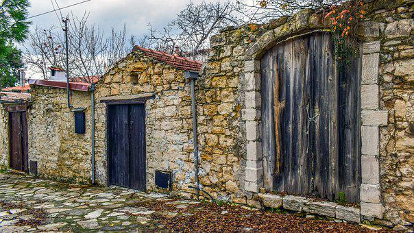 Street, Houses, Stone, Village, Architecture, Old
