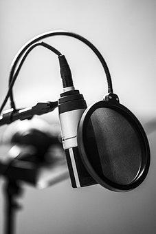 Microphone, Studio, Music, Radio, Sing
