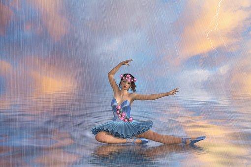 The Rain, Storm, Rain, Fantasy, Under The Rain