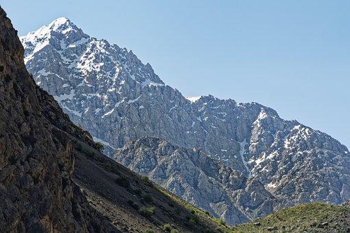 Tajikistan, šingtal, Valley, Landscape, Nature, Gorge