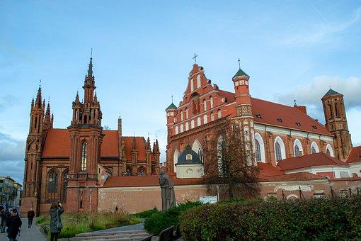 Lithuania, Vilnius, Capital, Architecture, Center, City
