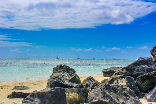 Beach, Beautiful, Black, Blue, Cloud