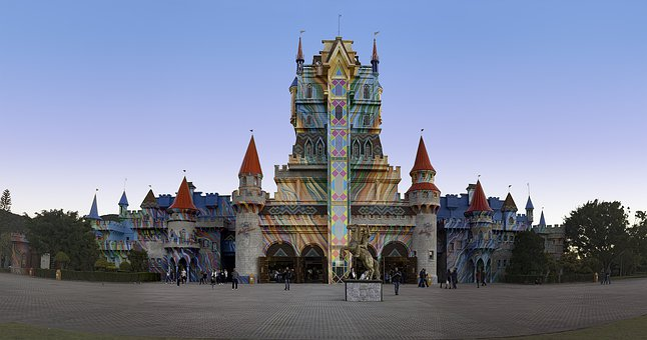 Beto Carrero World, Castle, Park