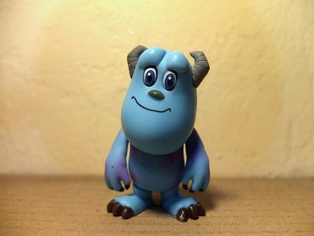 Blue Monster, Animation, Film, Movie, Cartoon, Monsters