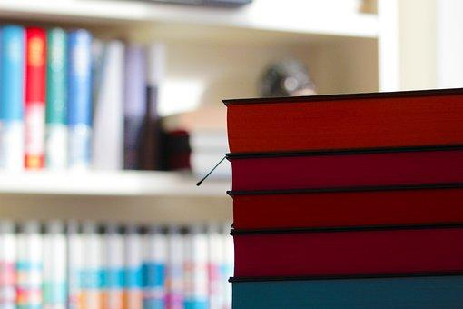 Books, Literature, Read, Book Stack, Paper, Color