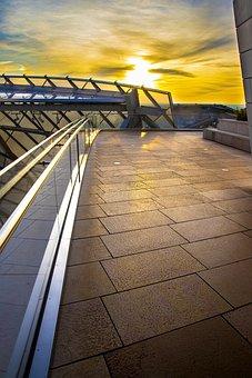 Sunset, Nature, Building, Architecture, Sky, Sun, Light