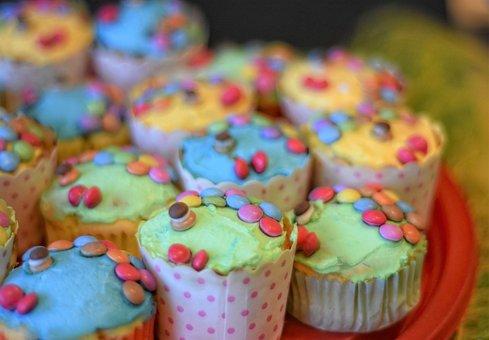 Cupcake, Muffin, Cake, Candy, Tart
