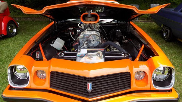 Classic Car, Hot Rod, Retro, Vintage, Automobile