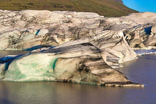 Iceland, The Glacier, Ice, Landscape, Cold, Nature