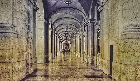 Architecture, Arcade, Columnar, Arcades, Building
