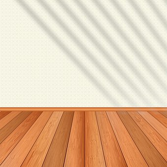 Empty Room, Wood Floor, Shadow, Wall, Interior, Empty