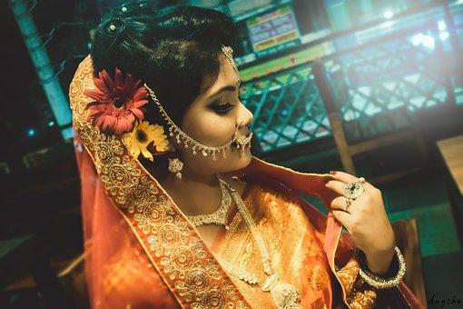 Wedding, Woman, Female, Engagement, Love, Dress