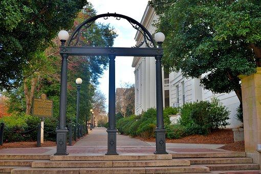 Historic, Arch, Entrance, Gateway